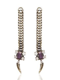 IOSSELLIANI - TRIBAL DECO EARRINGS - LUISAVIAROMA - LUXURY SHOPPING WORLDWIDE SHIPPING - FLORENCE