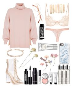 """""""⊙E c s t a c y⌾"""" by lilsavageboo ❤ liked on Polyvore featuring TIBI, Byredo, Bobbi Brown Cosmetics, Edward Bess, STELLA McCARTNEY, Anne Klein, Casetify and Laura Mercier"""