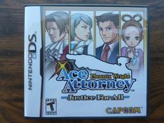Phoenix Wright: Ace Attorney Justice for All Nintendo DS Complete Video Game Nds http://r.ebay.com/q8n5T2 @eBay #nds #nintendods