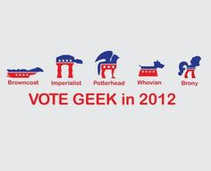 Now these are some political movements I can get behind. (As seen on the NerdBastards Facebook page)