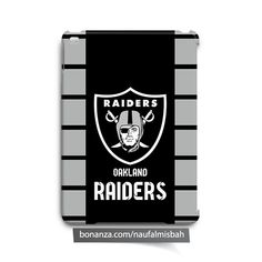 Oakland Raiders iPad Air Mini 2 3 4 Case Cover - Cases, Covers & Skins