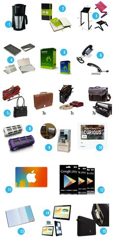 Gift Ideas for Entrepreneurs: Top 15 (Affordable) Gifts for Small Business Owners http://byregina.com/gifts-for-entrepreneurs/