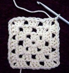 Zeer duidelijke uitleg van een granny square en zeer veel andere leuke patroontjes