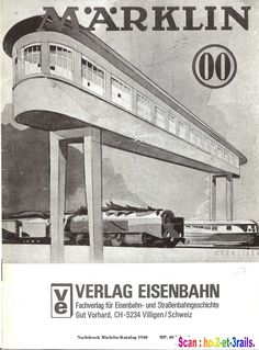 Marklin-Katalog 1940 00. Old catalog but these buildings were still present in the 1950s
