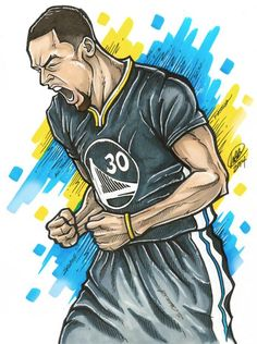 Stephen Curry 'Pure Passion' Illustration