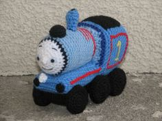crochet thomas the train | Thomas, The tank engine