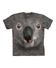 Purple Koala Face Tee - Toddler & Kids