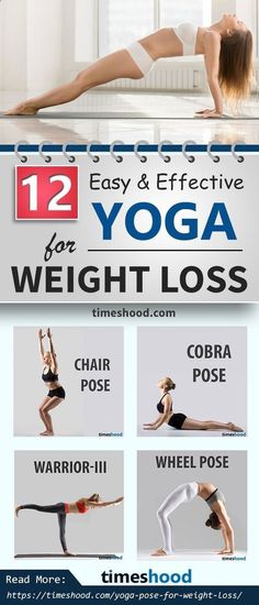 Easy Yoga Workout - 12 yoga for beginners weightloss. Your weight loss mechanism depend upon the yoga you select to burn extra fat. Begin with these effective yoga pose for weightloss. Full body beginners yoga workout for weight loss. timeshood.com/... Get your sexiest body ever without,crunches,cardio,or ever setting foot in a gym #yogaforbeginnersweightloss