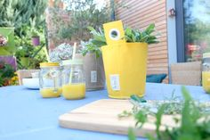 Decorate the table with the best colours with #The Green Pot designed by #BloomingWalls