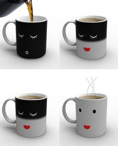 Haha! cute! Too bad I don't drink coffee or anything in the mornings :p