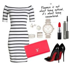 """""""Untitled #352"""" by mayer-fruzsina ❤ liked on Polyvore featuring A B Davis, Superdry, Louis Vuitton, Christian Louboutin, Forever 21, Michael Kors and MAC Cosmetics"""