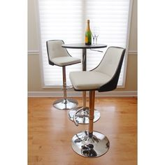 Shop for Nueva Mid-century Modern Wenge Wood Adjustable Barstool. Get free shipping at Overstock.com - Your Online Furniture Outlet Store! Get 5% in rewards with Club O!
