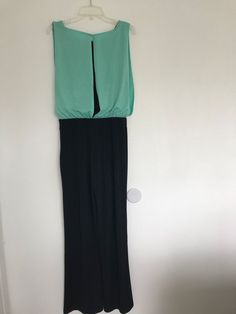 108e2adeee8 EnFocus Studio Black Green Glitter Jumpsuit Size 8 Free Shipping 1043   EnfocusStudio  PartyCocktail