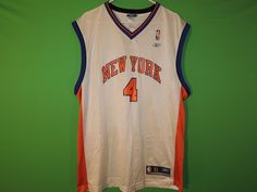 ... Nate Robinson New York Knicks Mens Size XL NBA Reebok Basketball Jersey  ... 65cda07dc