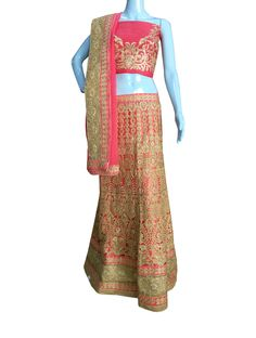 #BuyNow Gajri Heavy Zari Diamond Work #Wedding Semi-Stitch #LehengaCholi With Blouse only at Lalgulal.com. Price :- 6,822/- inr. To #Order :- http://goo.gl/BE6hb7 To Order you Call or #Whatsapp us on +91-95121-50402 COD & Free Shipping Available only in India.