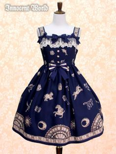 Constellations & Astronomical Clock Dress from Innocent World
