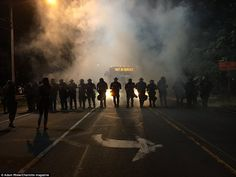 Photos From Last Night's Riot In Charlotte North Carolina