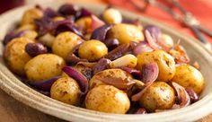 Cozinha Fácil: Batatas de Forno com Azeitonas