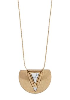 Gonna Shape Up Necklace. Your outfit turns spectacular when you lay this long necklace atop your blouse!  #modcloth