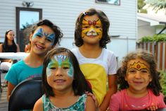 FACE PAINTING FOR KIDS  #magicbrush Face Design, Painting For Kids, Carnival, Mardi Gras, Carnivals