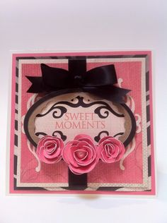 69560db595ee Courtney Lane Designs  SWEET MOMENTS CARD MADE USING THE ART PHILOSOPHY  CARTRIDGE Shaped Cards
