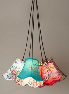 Cordelia 5 light cluster. A light to add some colour into your room.