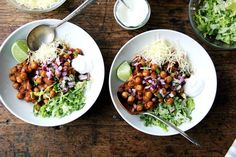 Chickpea Taco Bowls recipe on Food52