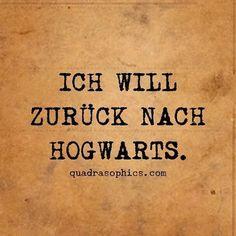 Ich wünschte ich währe inmal in Hogwarts gewessen, so das ich das sagen könnte...