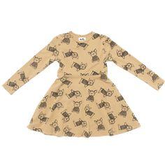 Frenchies Print Skater Dress from Kira Kids