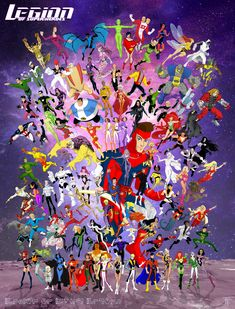 "And right on time for Comic Con 2015 ladies and gents may I present to you: ""The Legion of Super Heroes Monstruos Group Shot! Legion of Super Heroes Group Shot 2015 Dc Comics Art, Marvel Dc Comics, Image Hero, Legion Of Superheroes, Superman Art, Superhero Design, Marvel Art, Cool Artwork, Comic Art"