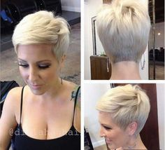 25 Pretty Short Haircuts | http://www.short-haircut.com/25-pretty-short-haircuts.html