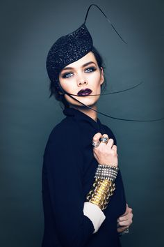 Olivia Roat Milinery Shoot