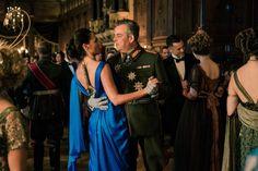 Danny Huston and Gal Gadot in Wonder Woman (2017)