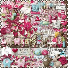 After Five Designs::Full Kits::Kisses, by Kristin Aagard