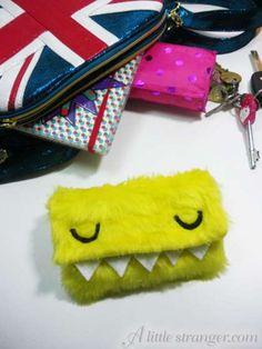 Fluffy Monster Case free tutorial by A Little Stranger :)