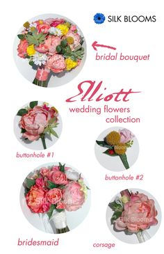 Spotlight on Elliott: bright and bold bouquet with succulents. Succulents are a major #wedding #flower #trend in #2015!