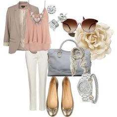 spring style for work by KariB