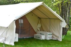 Canvas Wall Tents, Canvas Wall Tent