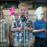 ADORABLE 4 Year-Old Recites Every New Testament Book - But Wait for the Hilarious Surprise Ending!