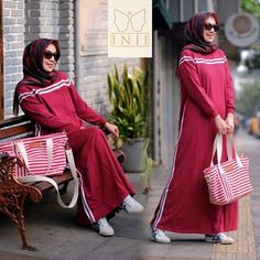 MOZA 2 by Inji . * Dress only, bahan terry good quality adem nyaman. by rira Hash Tag, Casual Dresses, Peach, Sporty, Ootd, Navy, Womens Fashion, Outfits, Beautiful