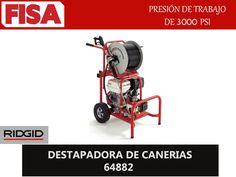 DESTAPADORA DE CAÑERIAS 64882. Presión de trabajo de 3000 PSI- FERRETERIA INDUSTRIAL -FISA S.A.S Carrera 25 # 17 - 64 Teléfono: 201 05 55 www.fisa.com.co/ Twitter:@FISA_Colombia Facebook: Ferreteria Industrial FISA Colombia