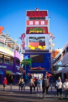 Slotzilla on Fremont Street, Las Vegas - vegasgreatattractions.com