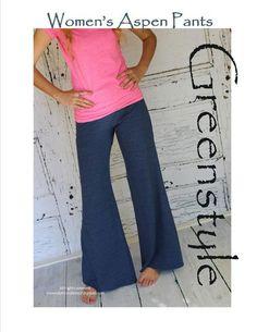 GreenStyle Aspen Pants - via @Craftsy