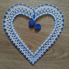 Lacemaking, Lace Heart, Lace Jewelry, Bobbin Lace, Art Floral, Lace Detail, Washer Necklace, Crochet Necklace, Hearts