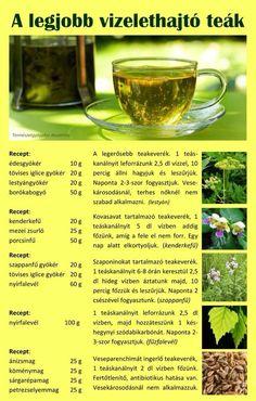 ❤️A legjobb vizelethajtó teák Healthy Tips, Alcoholic Drinks, Tea, Beauty, Food, Essen, Liquor Drinks, Meals, Alcoholic Beverages
