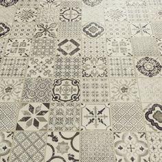 Starfloor Tile Retro Black White Luxury Vinyl Tile                                                                                                                                                                                 More