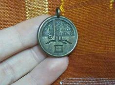 3d printed Riven Scarab Pendant by Cyclumen on Shapeways