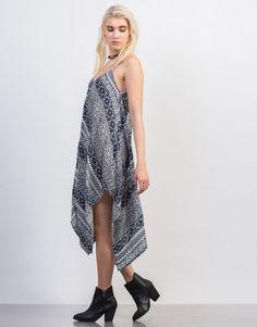 Super Flowy Printed Dress - Medium