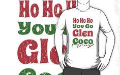 Vintage Ho Ho Ho You Go Glen Coco Candy Canes #glencoco,#christmas,#hohoho,#funny,#candycanes