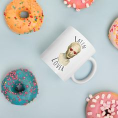 Whether you're drinking your morning coffee, your evening tea, or something in between – this mug's for you! It's sturdy and glossy with a vivid print that'll withstand the microwave and dishwasher. Teaching Latin, Collections, Lovers, Mugs, History, Historia, Tumblers, Mug, Cups